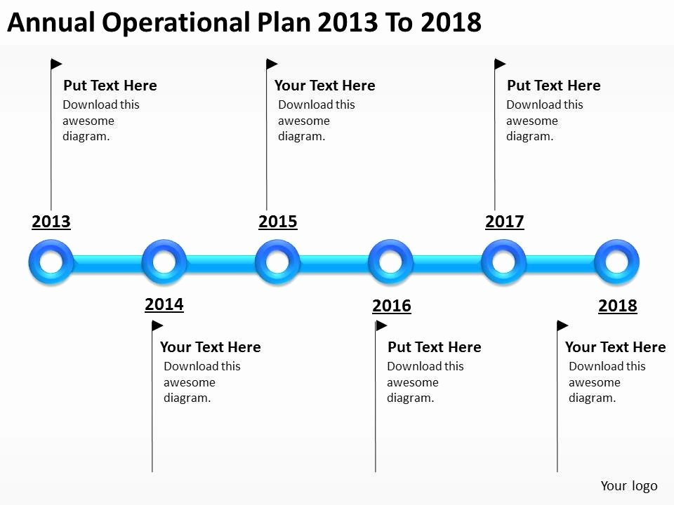 Annual Operating Plan Template Fresh Business Network Diagram Annual Operational Plan 2013 to