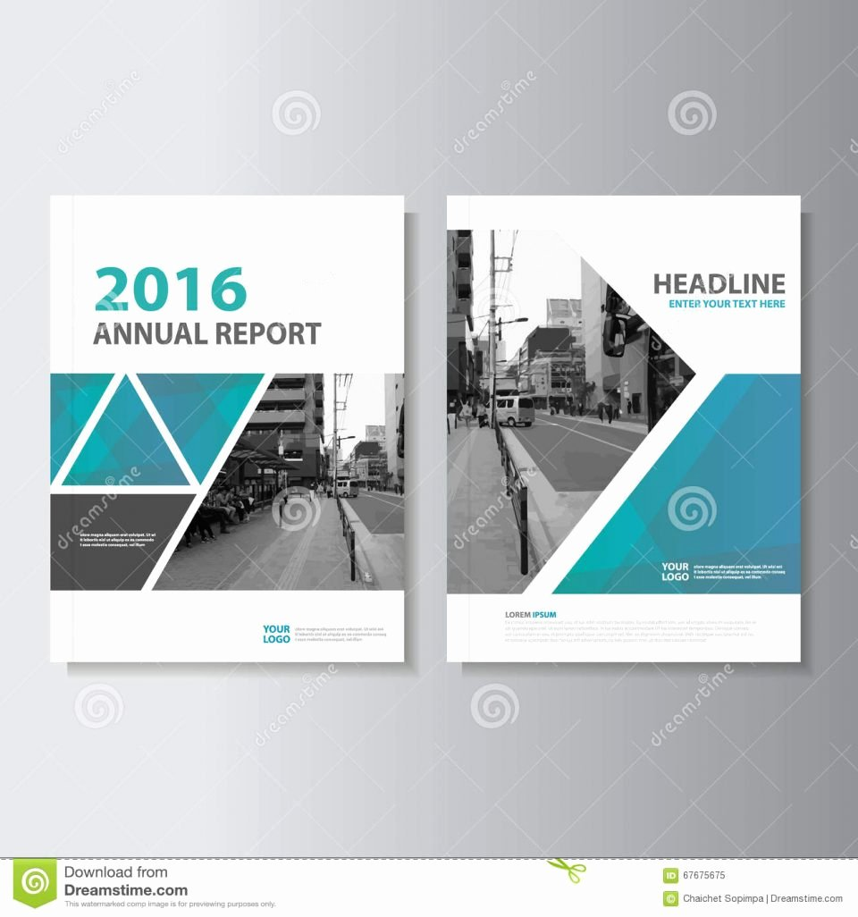 Annual Report Design Template Beautiful Booklet Layout Design Template with Cover Stock Vector