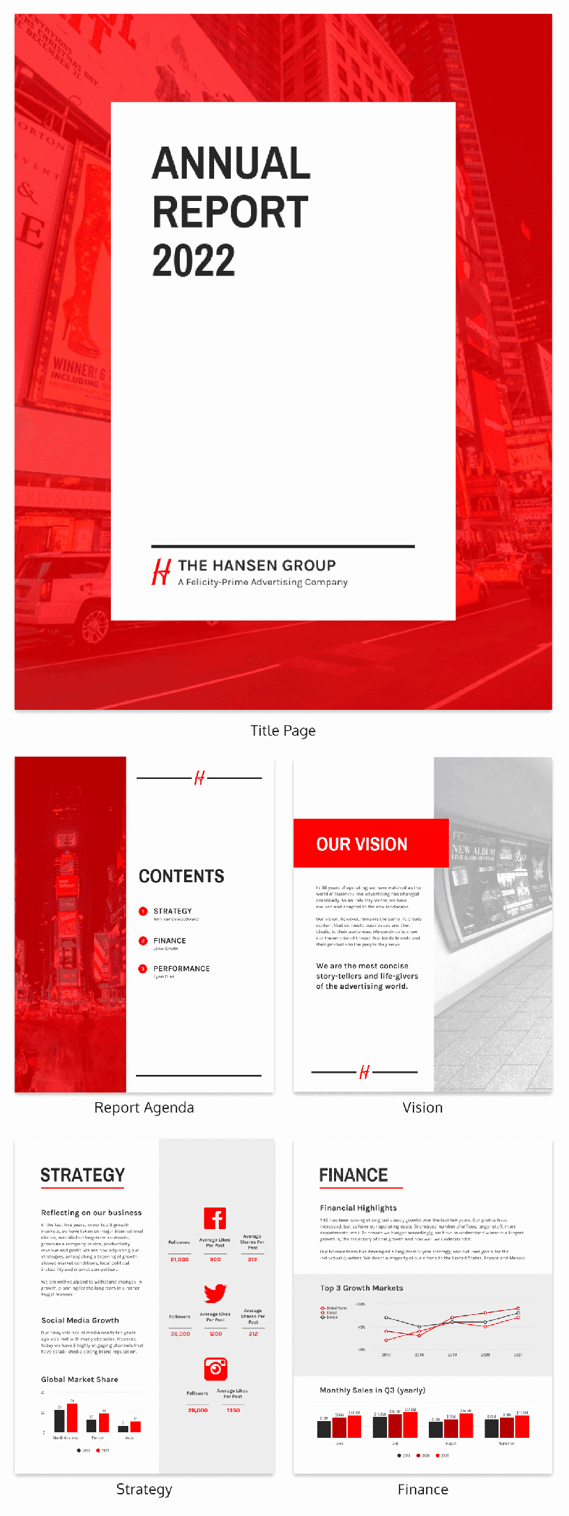 Annual Report Design Template Inspirational 50 Customizable Annual Report Design Templates Examples