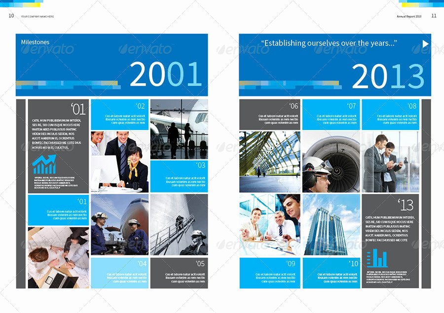 Annual Report Design Template Inspirational Annual Report Design Template Vol 2 by Thinqueber