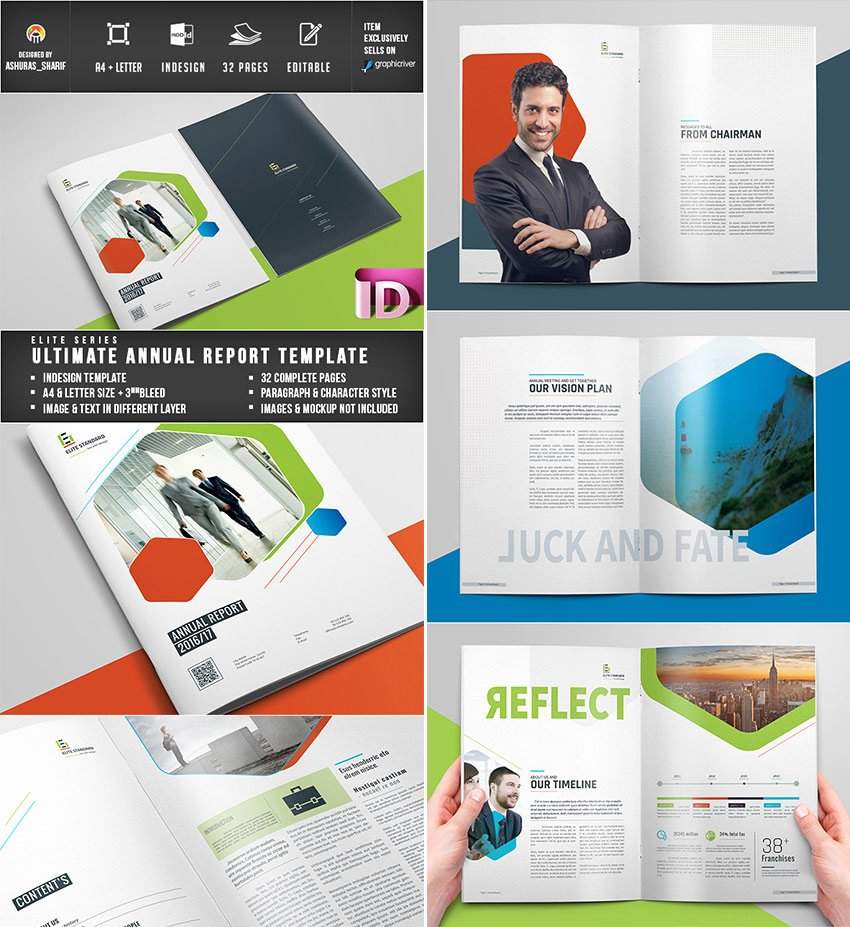 Annual Report Design Template Lovely 15 Annual Report Templates with Awesome Indesign Layouts
