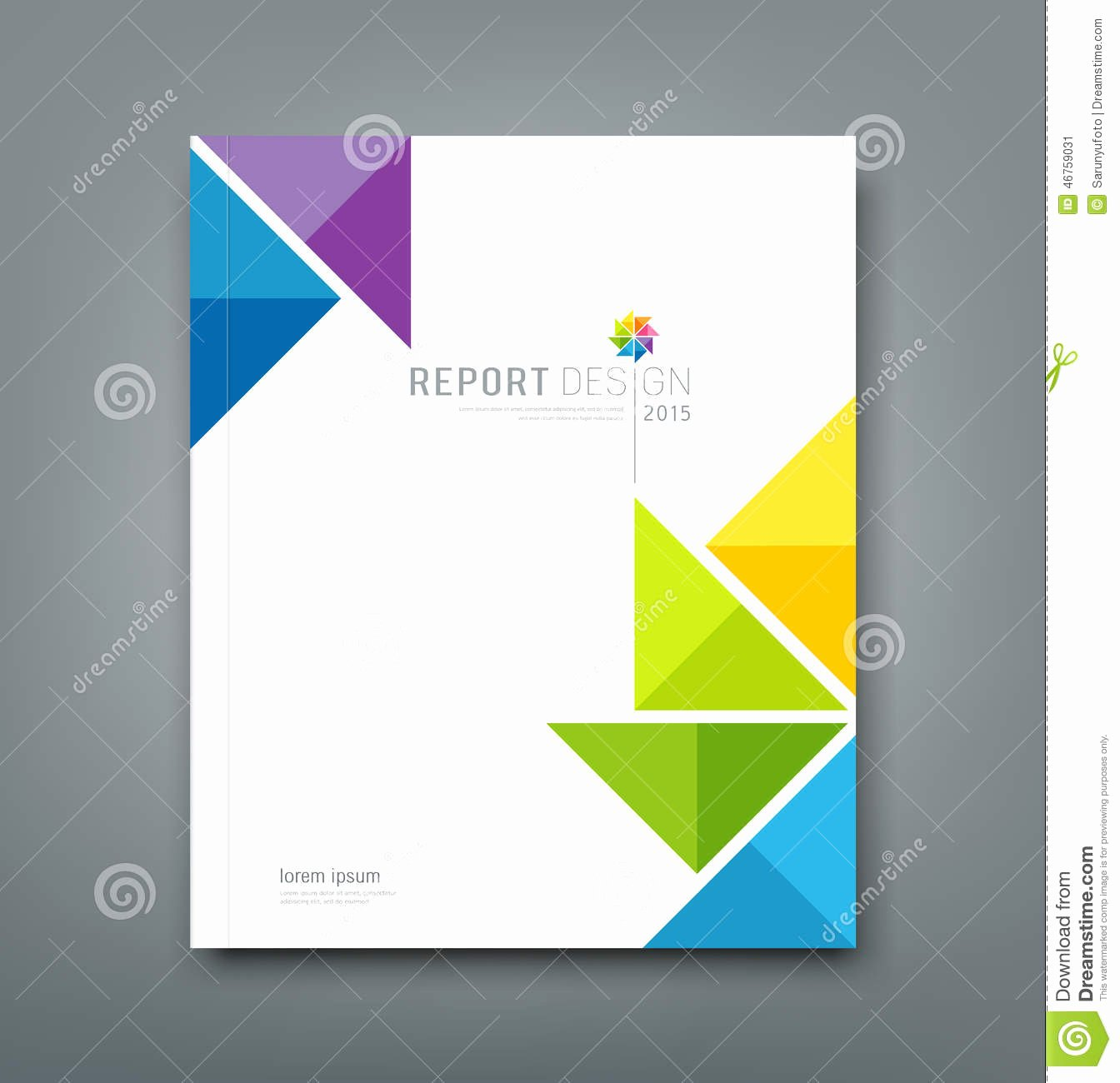 Annual Report Design Template Lovely 8 Best Of Report Cover Design Report Cover Page