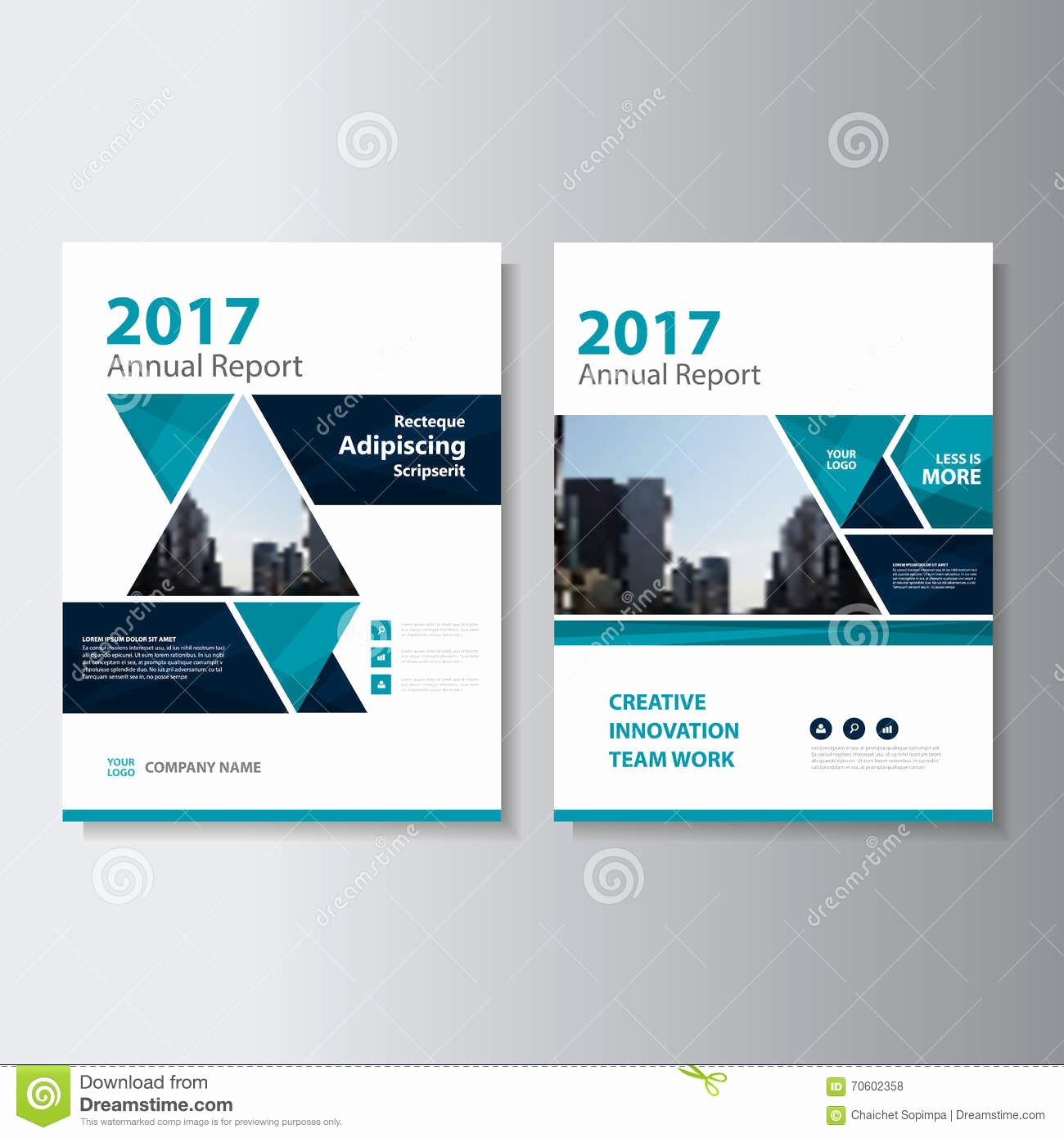 Annual Report Design Template Luxury Abstract Triangle Geometric Brochure Flyer Design Layout