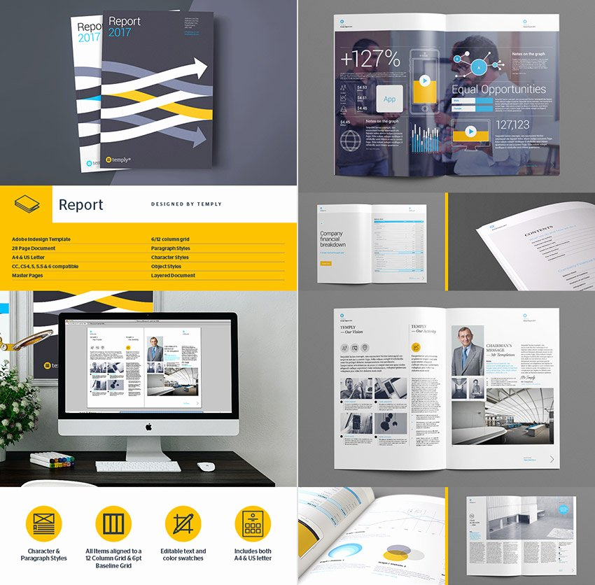 Annual Report Design Template New 15 Annual Report Templates with Awesome Indesign Layouts