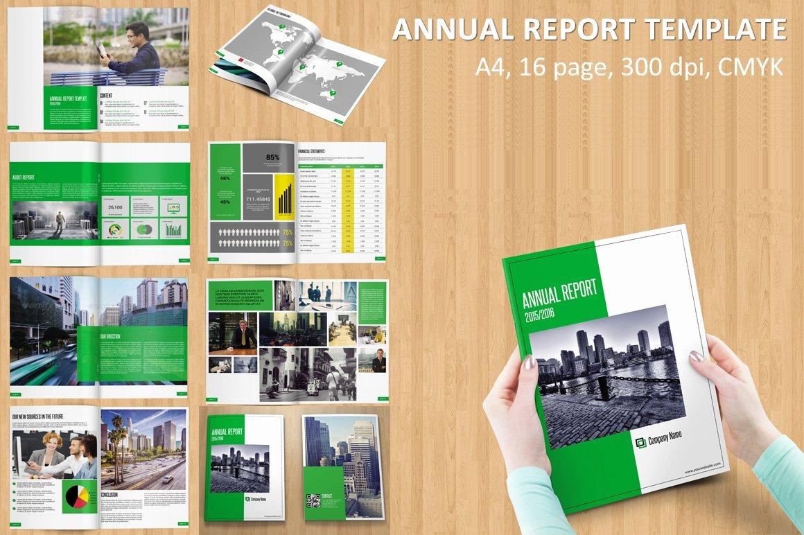 Annual Report Design Template Unique Annual Report Template V115 Brochure Templates