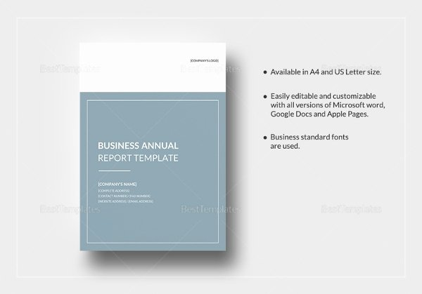 Annual Report Template Word Fresh Professional Report Template Word 24 Free Sample