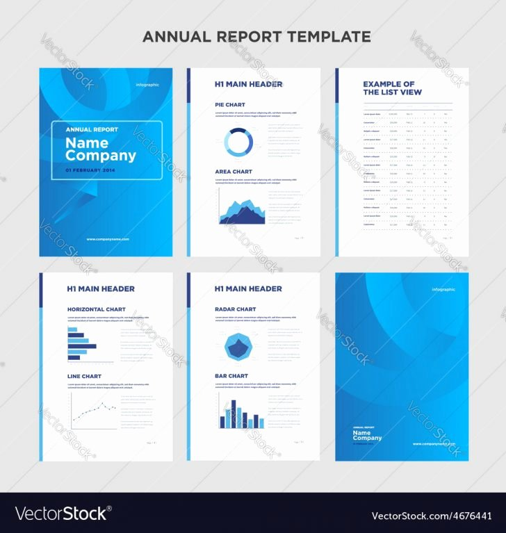 Annual Report Template Word Inspirational Report Annual Report Template