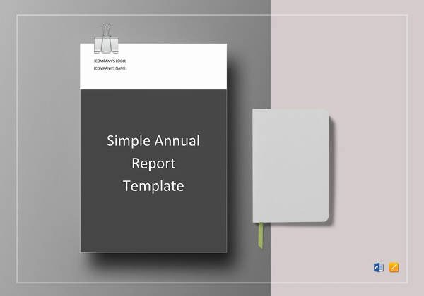 Annual Report Template Word Lovely 19 Annual Report Templates to Download for Free
