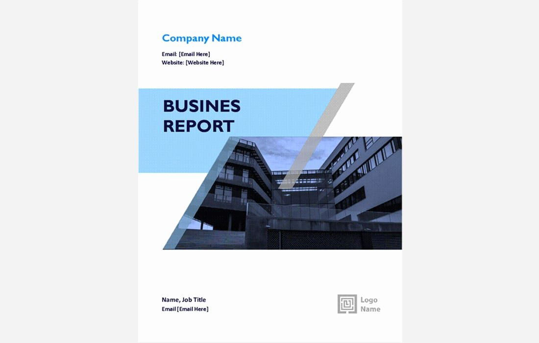 Annual Report Template Word Luxury 20 Annual Report Templates Word & Indesign 2018