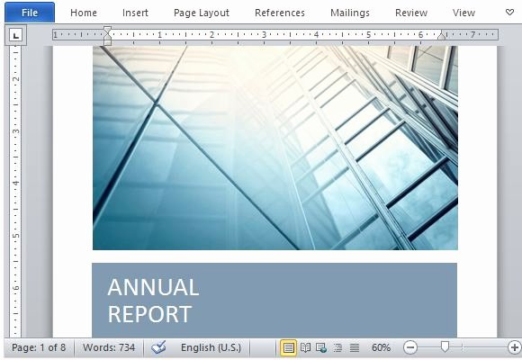 Annual Report Template Word Luxury Fice 365 Line Templates