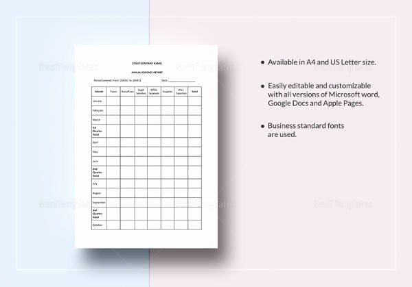 Annual Report Template Word Unique 19 Annual Report Templates to Download for Free