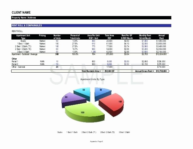 Apartment Rent Roll Template Best Of Sf Crossing Apartment Rent Roll Template Excel