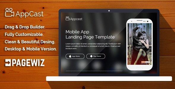 App Landing Page Template Best Of App Cast Mobile App Landing Page Template themeforx