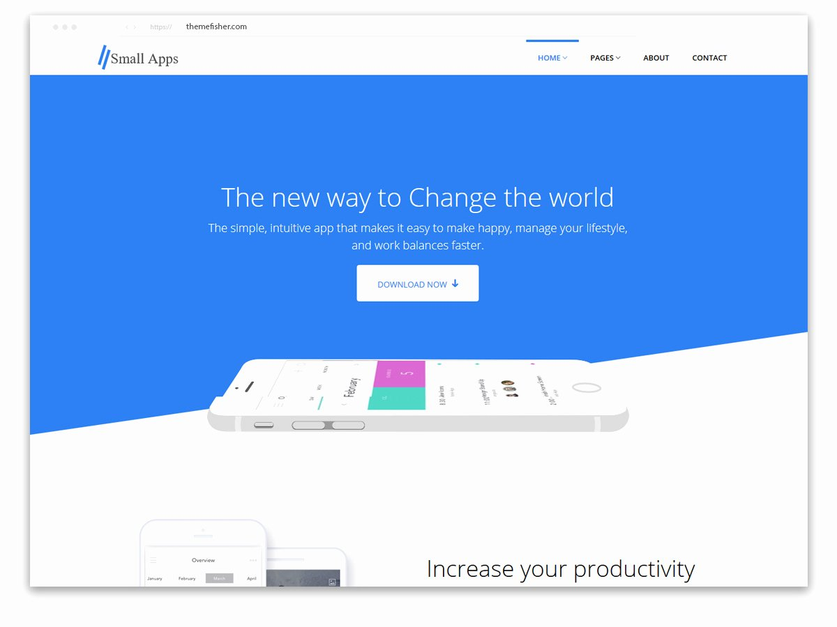 App Landing Page Template Elegant 100 Free Bootstrap HTML5 Templates for Responsive Sites