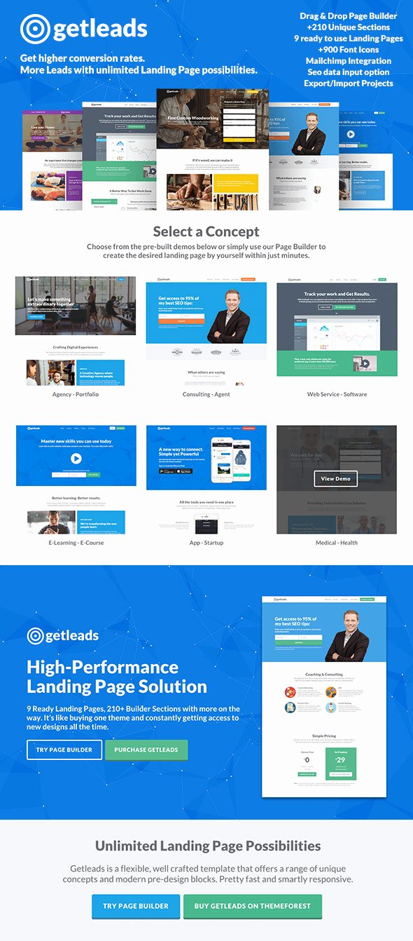 App Landing Page Template Luxury 10 Best Bootstrap Landing Page Templates—with Responsive