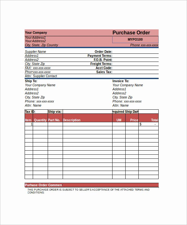 apparel order form template