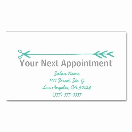 Appointment Reminder Card Template Luxury 366 Best Images About Appointment Reminder Business Cards