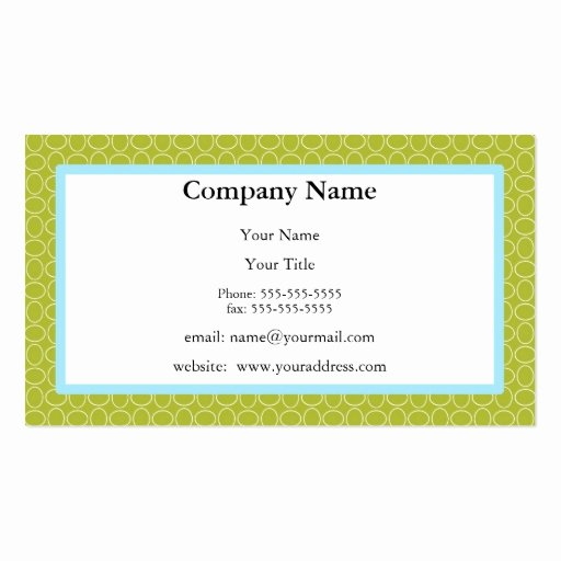 Appointment Reminder Card Template Unique Appointment Reminder Card Green and Blue Double Sided