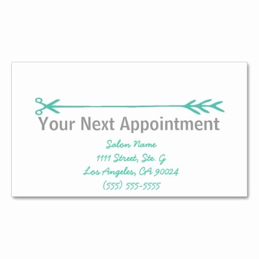 Appointment Reminder Cards Template Lovely 387 Best Appointment Reminder Business Cards Images On