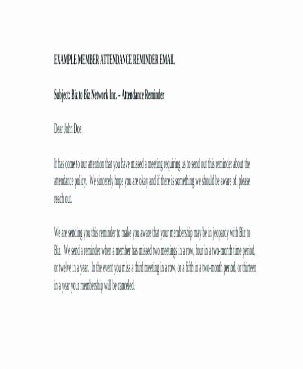 Appointment Reminder Email Template Inspirational Patient Missed Appointment Letter Template Email Monster