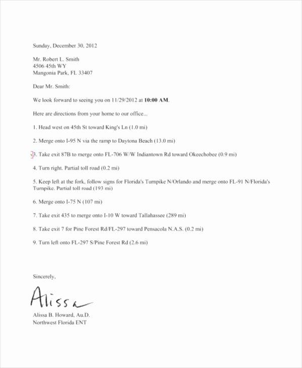 Appointment Reminder Letter Template Unique 44 Appointment Letter Template Examples