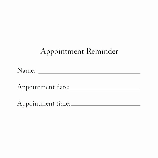 Appointment Reminder Template Word Best Of Friendly Reminder Email Sample Meeting Template Functional