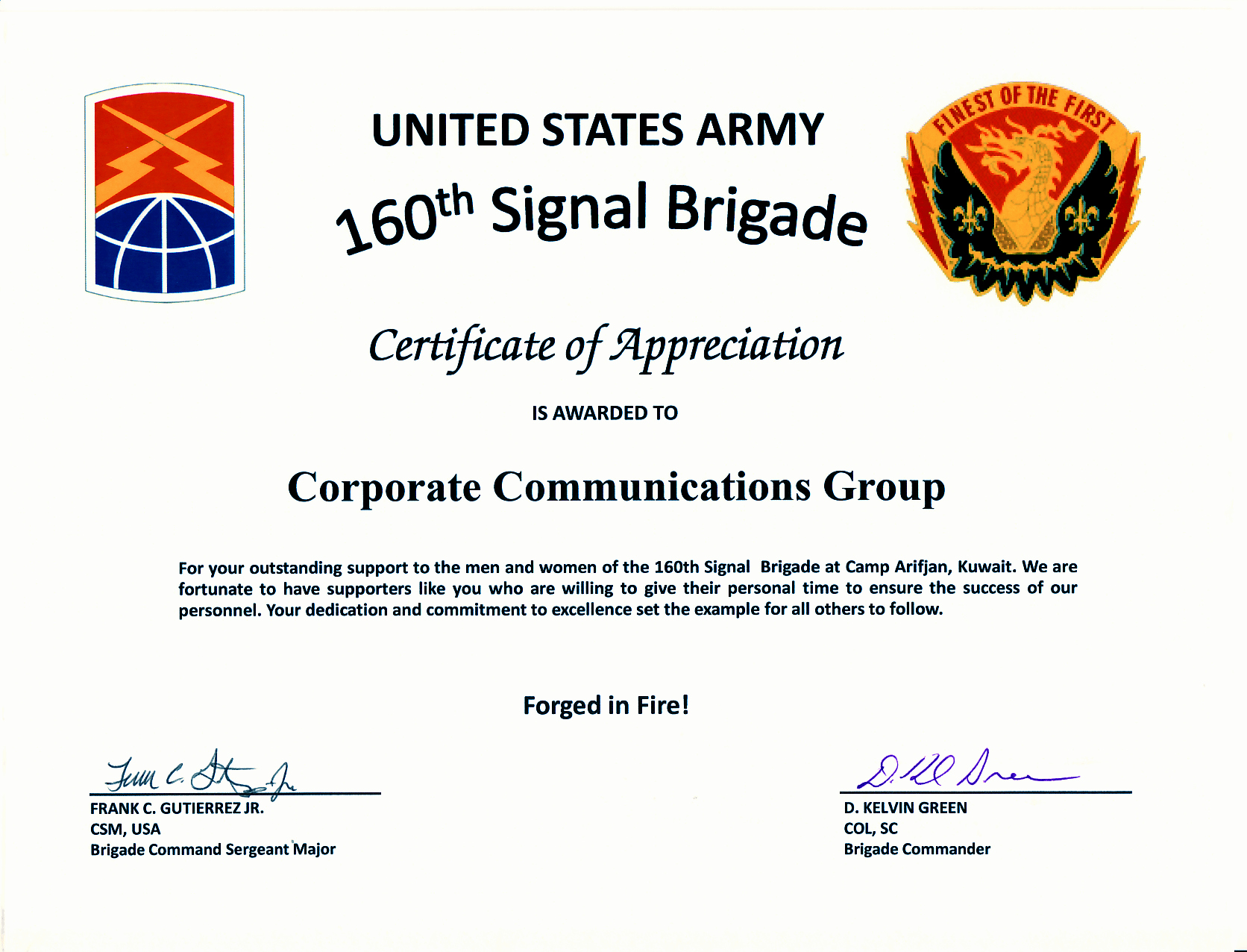 Army Promotion Certificate Template Inspirational Army Certificate Appreciation Bamboodownunder
