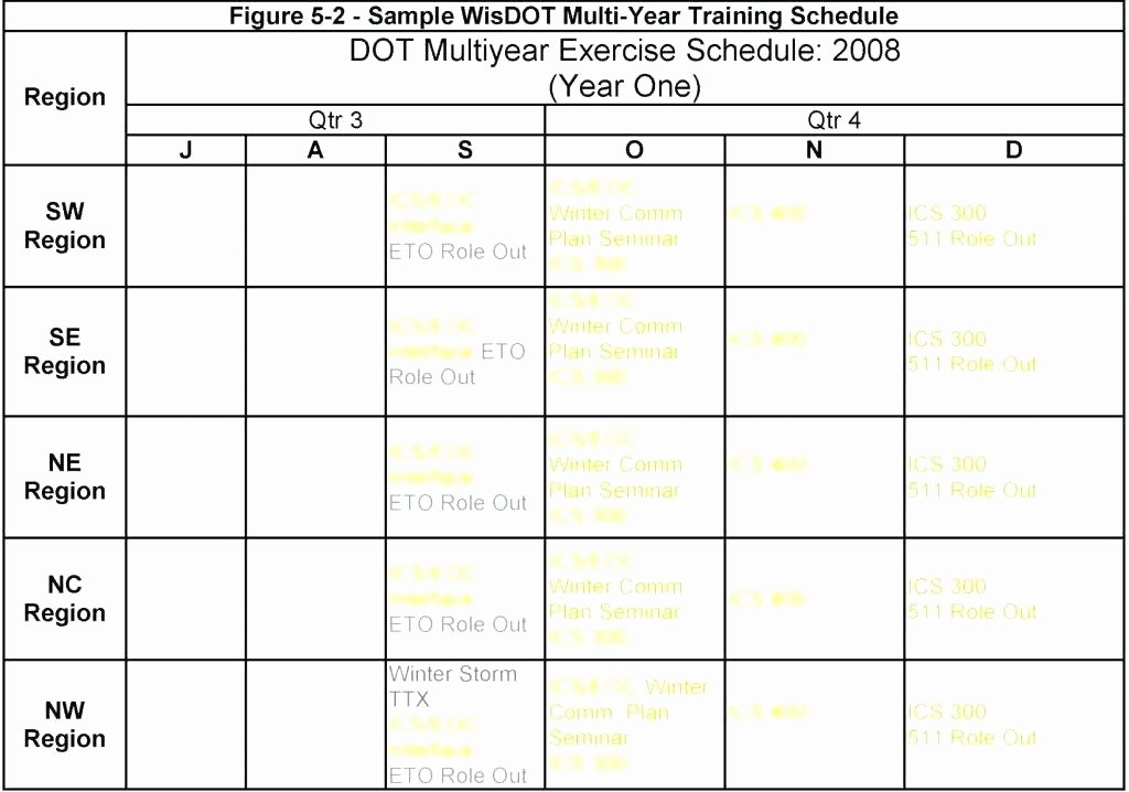 Army Training Plan Template Beautiful Army Training Schedule Template – asctech