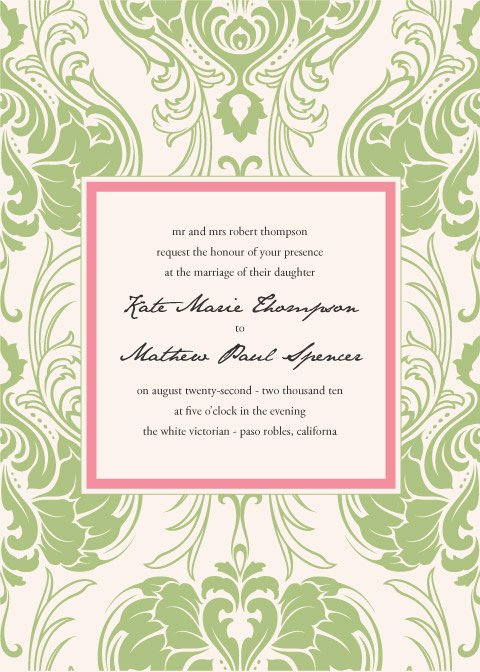 Art Deco Invitation Template Luxury Free Art Nouveau Invitation Template Weddingbee