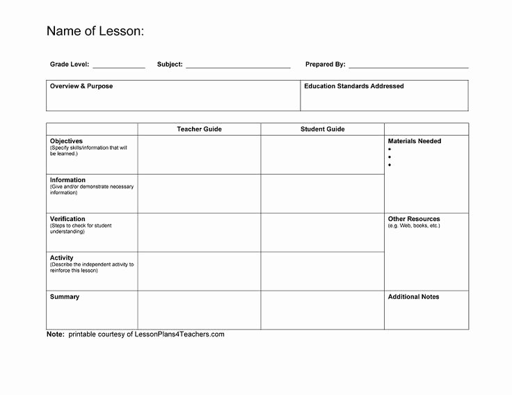 Art Lesson Plan Template Lovely Best 25 Blank Lesson Plan Template Ideas On Pinterest