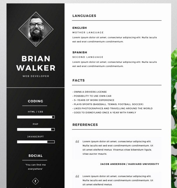 Artist Resume Template Word Awesome 130 New Fashion Resume Cv Templates for Free Download