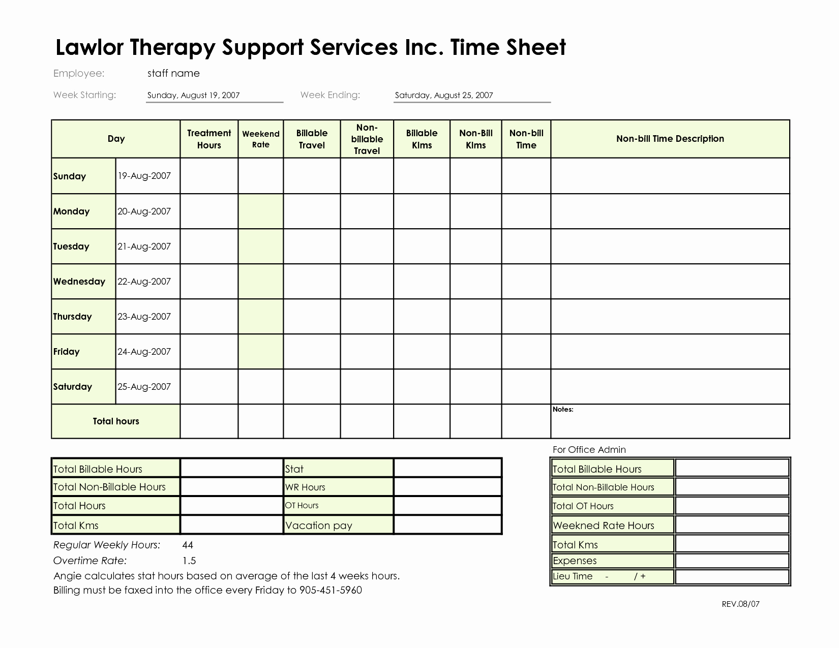 Attorney Billable Hours Template Best Of 10 Best Of Billable Hours Invoice Template