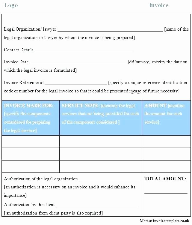 Attorney Billable Hours Template Elegant attorney Billable Hours Invoice Template