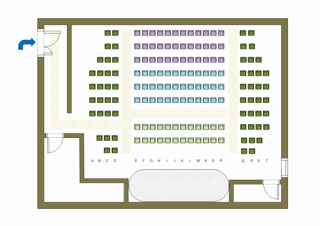 Auditorium Seating Chart Template Beautiful Floor Plan Examples
