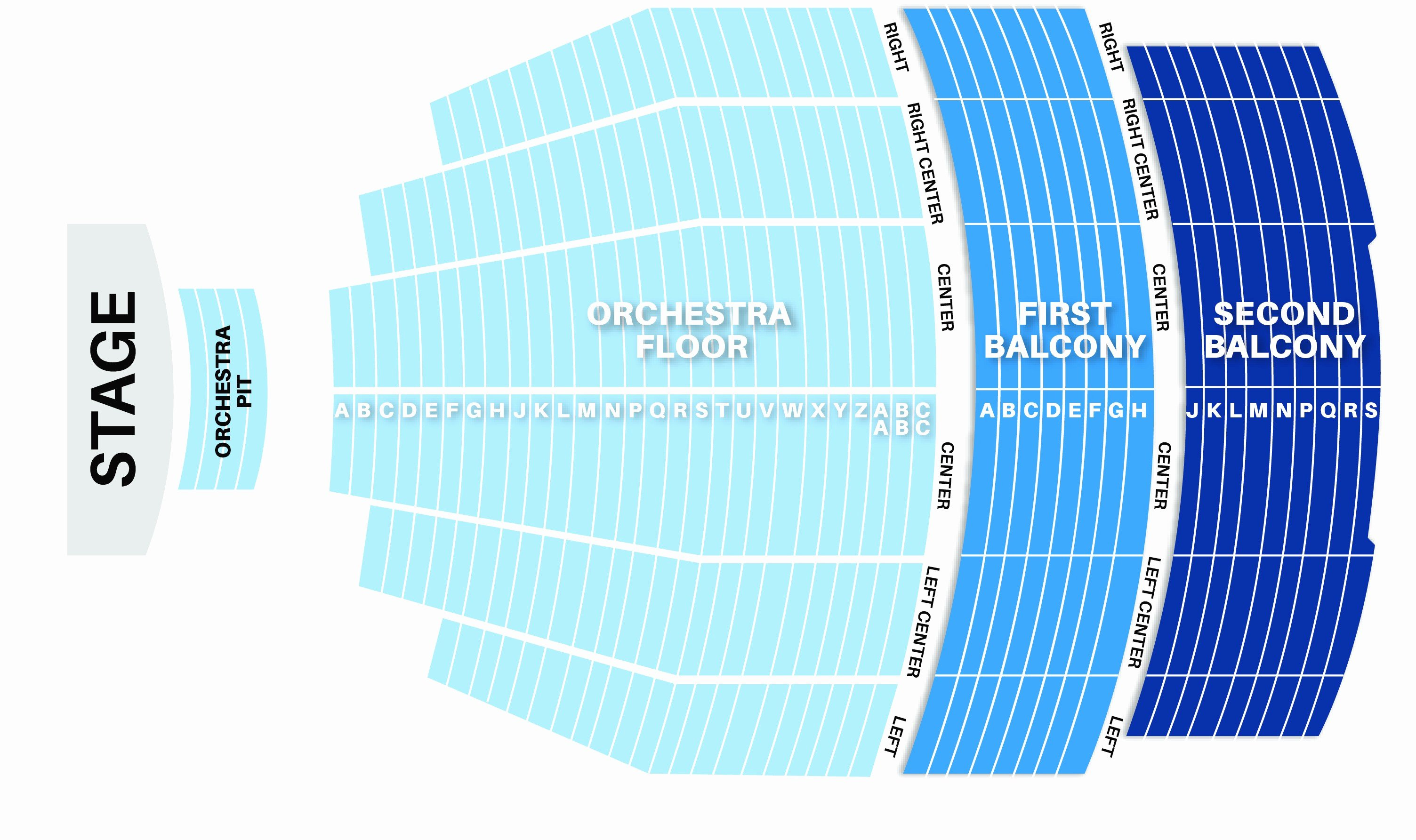 Auditorium Seating Chart Template Best Of Keller Auditorium Seat Map