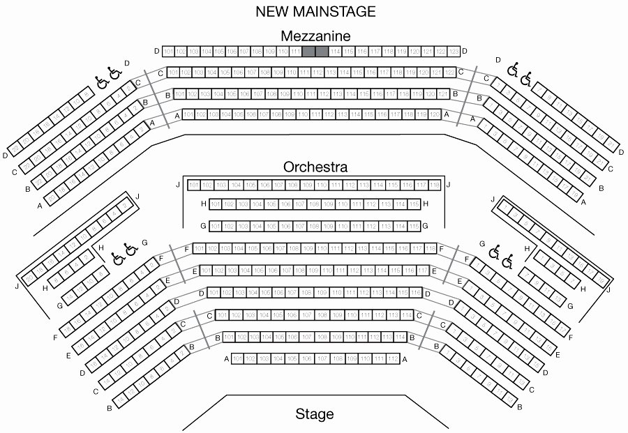 Auditorium Seating Chart Template Elegant Keller Auditorium Seating Chart Beautiful Arlene Schnitzer