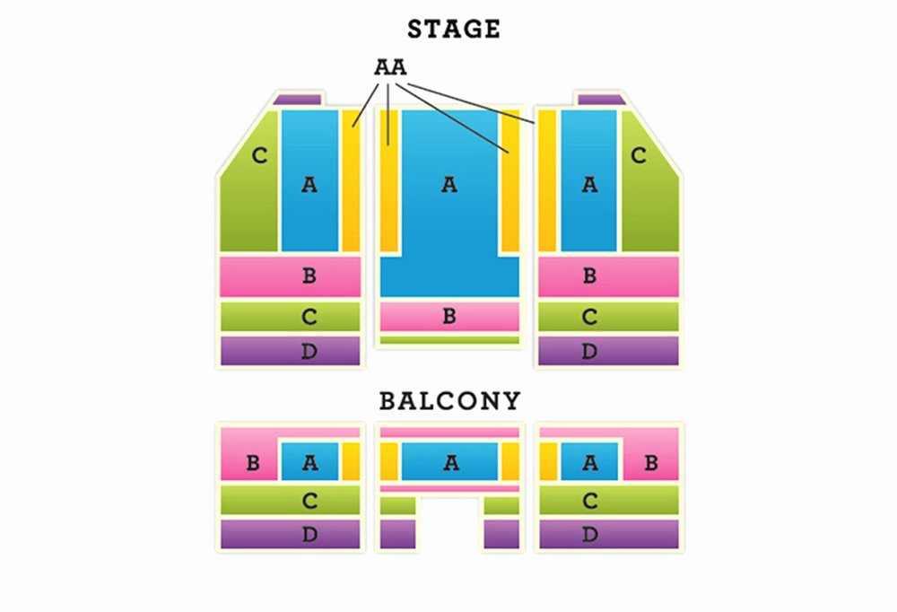 Auditorium Seating Chart Template Inspirational Pasadena Auditorium Seating Chart Chart Template Ideas