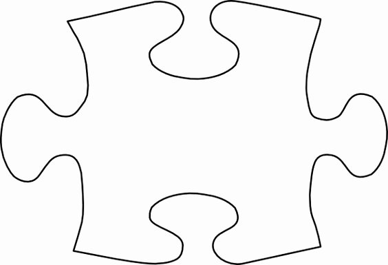 Autism Puzzle Piece Template Best Of Gallery for Free Clip Art Jigsaw Puzzle Pieces Image
