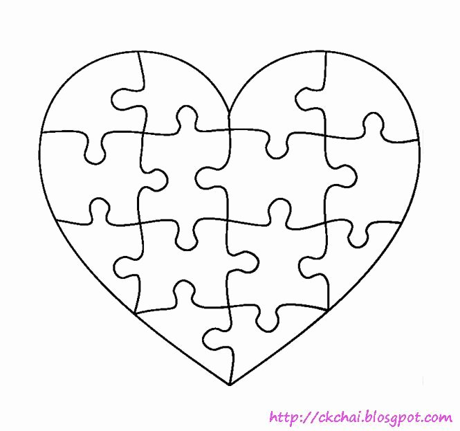 Autism Puzzle Piece Template Fresh 1000 Ideas About Puzzle Piece Template Pinterest Free