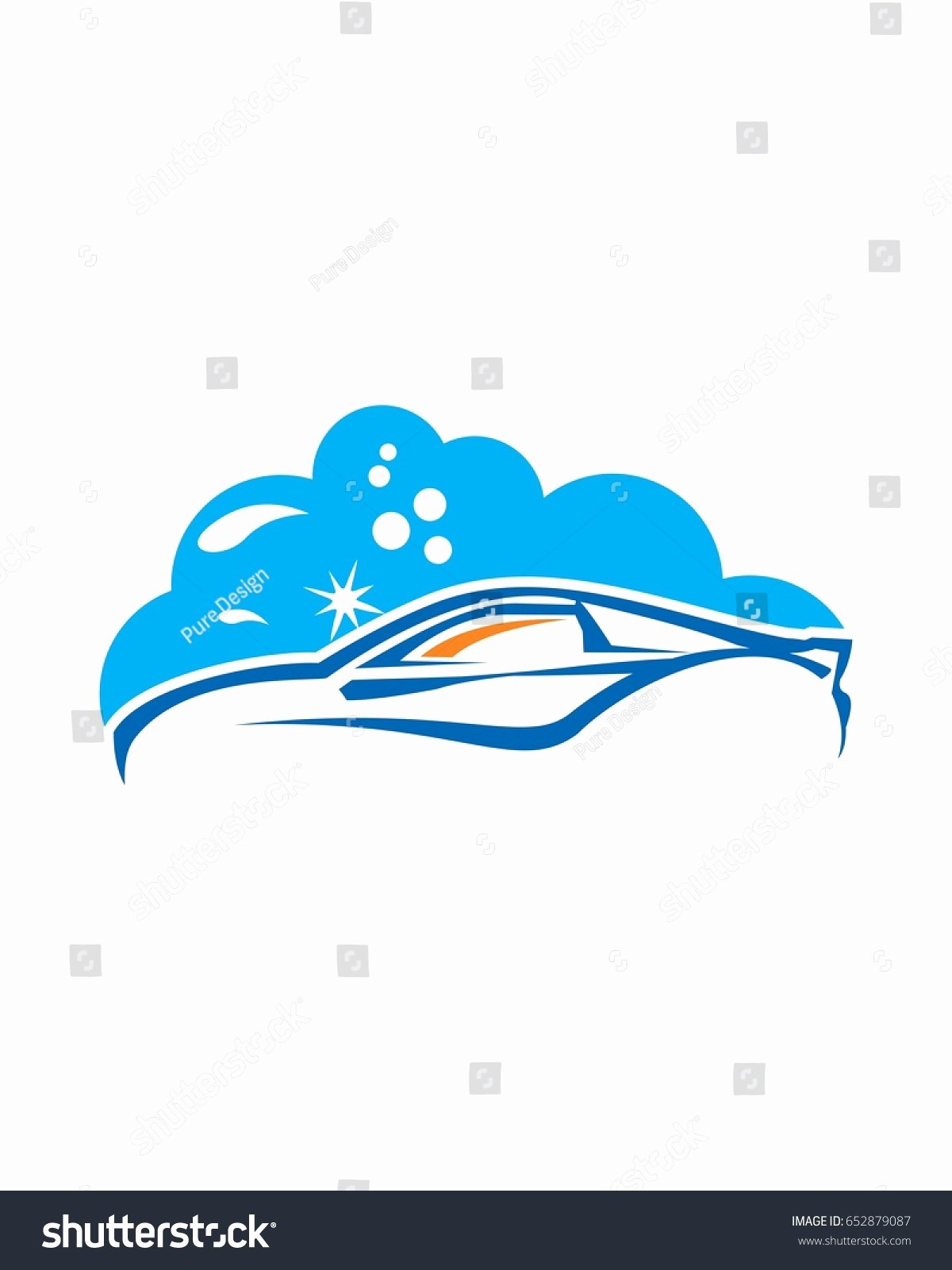 Auto Detailing Logo Template Awesome Car Wash Logo Template Stock Vector Shutterstock