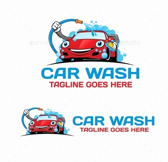 Auto Detailing Logo Template Best Of Cartoon Car Wash Logo by Mazyo2x