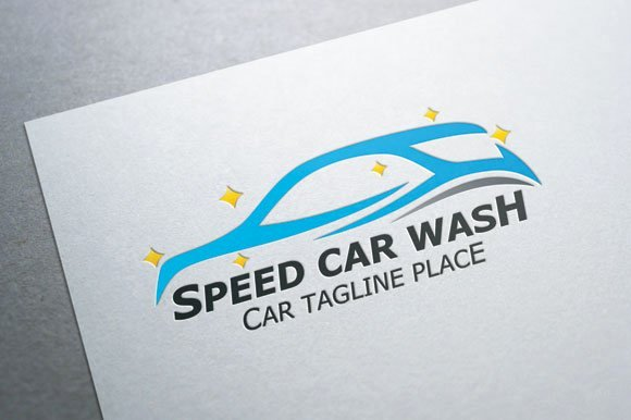 Auto Detailing Logo Template Fresh Speed Car Wash Logo Logo Templates Creative Market