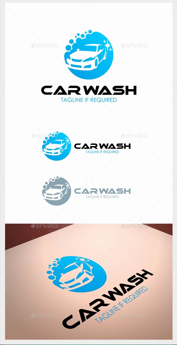 Auto Detailing Logo Template Inspirational Car Wash Logo by orkid