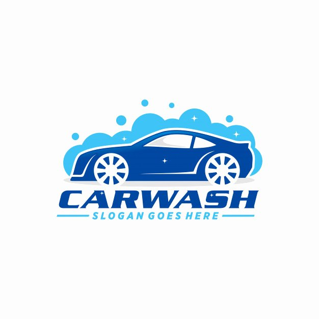 Auto Detailing Logo Template Lovely Car Wash Logo Template Vector
