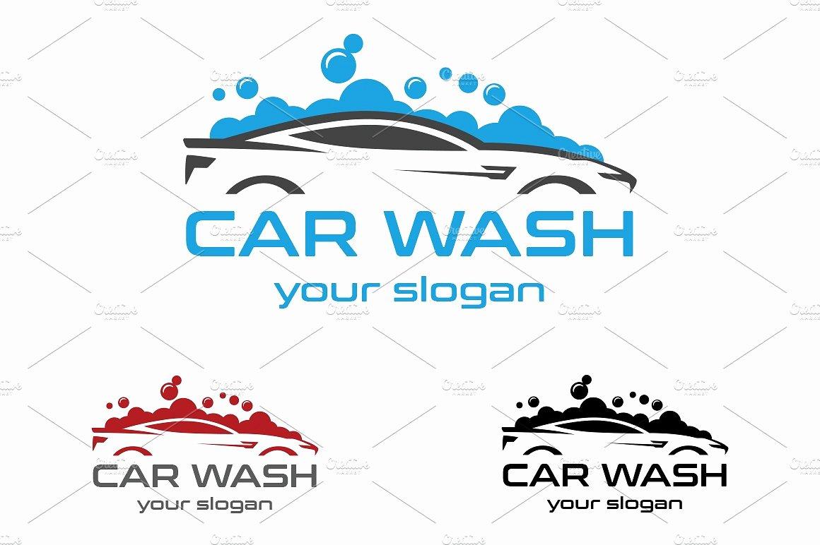 Auto Detailing Logo Template New Car Wash Logo Logo Templates Creative Market
