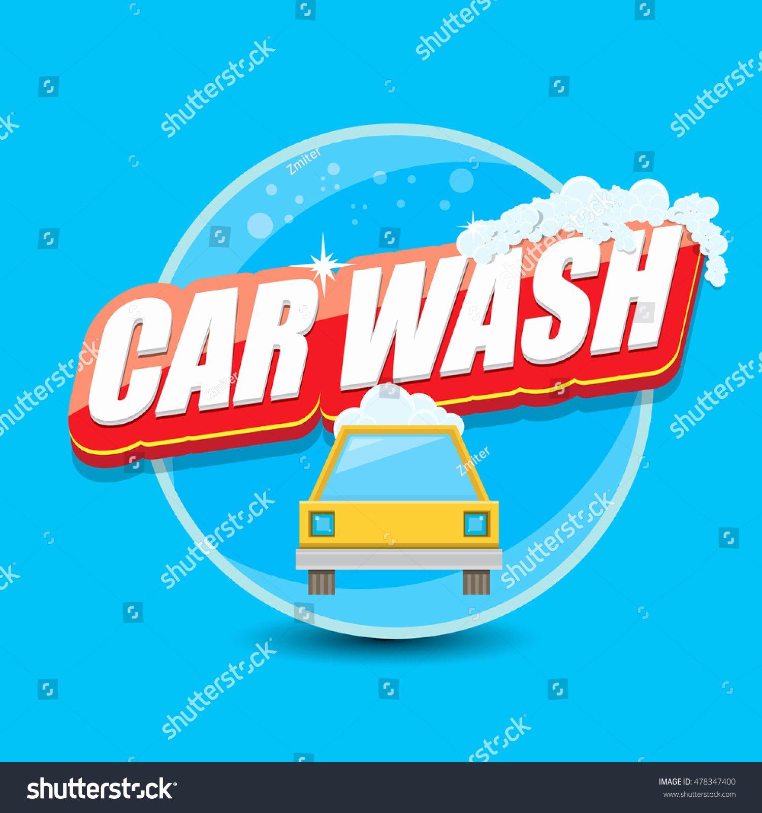 Auto Detailing Logo Template Unique Vector Car Wash Logo Template Washing Car Label