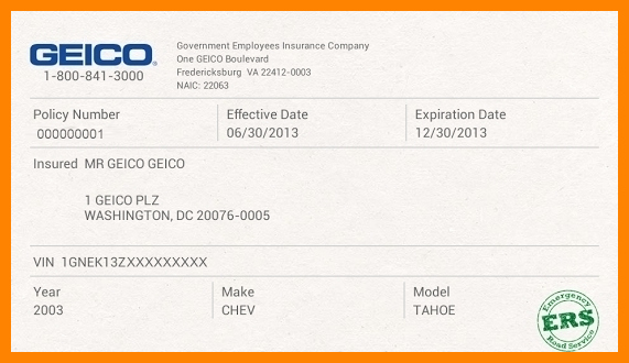 Auto Insurance Card Template Lovely Auto Insurance Card Template Free Downloadto Insurance
