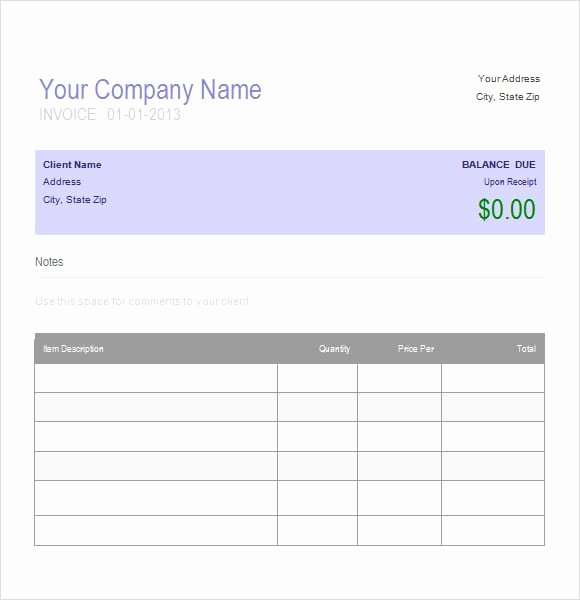 Auto Repair Invoice Template New Auto Repair Invoice Template Printable Word Excel
