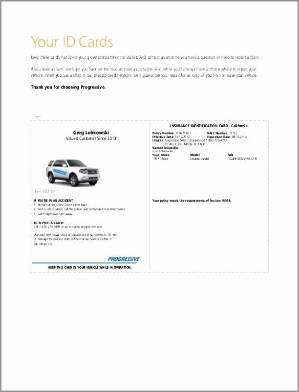 Automobile Insurance Card Template Awesome Illinois Fake Insurance Card – Fill Line Printable