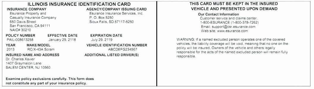 Automobile Insurance Card Template Unique Fake Insurance Card Templates Free 8 solid Evidences